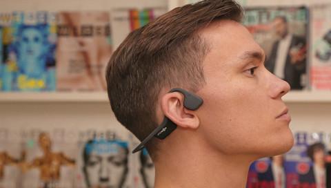 Wenn Kopfhörer den Sound über die Knochen leiten
