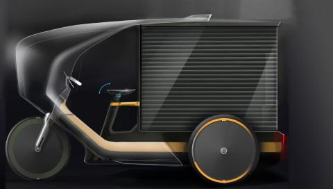 Tretbox ist das erfolgversprechende Kind eines E-Bikes und einer Rikscha
