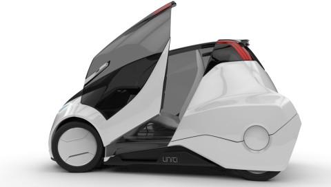 Siemens baut das lenkradlose E-Auto von Uniti