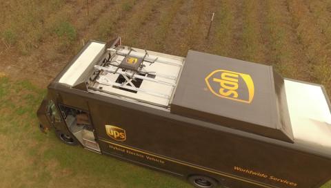 UPS will Trucks als mobile Drohnenbasen nutzen
