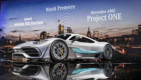 Über 1000 PS: Das Showcar Mercedes-AMG Project ONE