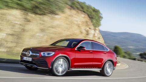 GLC Coupé: Neuauflage für das Sport-SUV von Mercedes