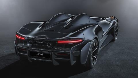 Weltpremiere für den McLaren Elva Roadster: Leichter Zweisitzer mit starken 815 PS