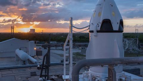 Die Dragon-V2-Kapsel von SpaceX wird am 7. Januar zur ISS reisen