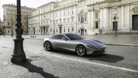 Neue Formenlehre: Weltpremiere für den Ferrari Roma
