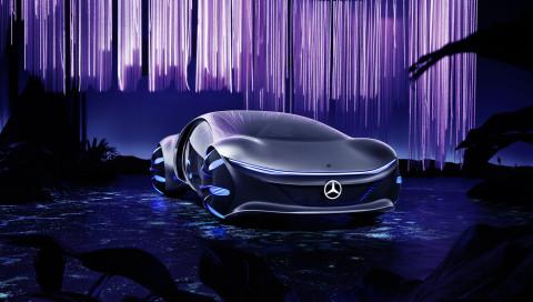 Luxus-Showcar VISION AVTR: So macht sich Mercedes fit für die Zukunft