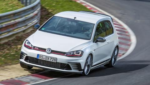 VW Golf GTI Clubsport S knackt eigenen Rekord auf der Nordschleife