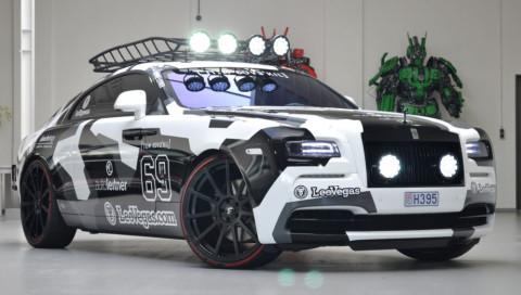 Jon Olssons Rolls-Royce Wraith wird verkauft