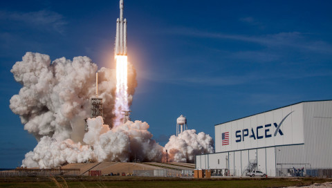 Die Falcon Heavy hat funktioniert