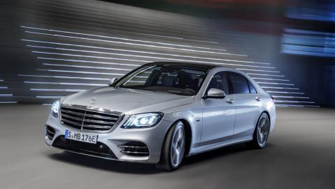 Luxus-Limousine mit Hybrid-Power