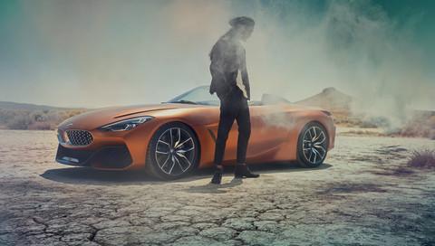 Weltpremiere: BMW zeigt Roadster Concept Z4