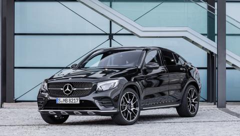 Power-Paket: das Mercedes-AMG GLC 43 4MATIC Coupé
