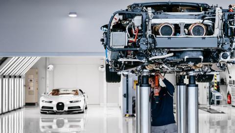 So wird der Bugatti Chiron produziert