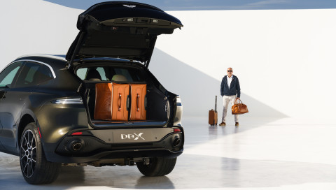 Aston Martin DBX: Fotoshooting mit dem Bond-SUV