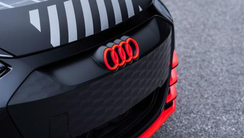 Audi e-tron GT: Erste Teaserbilder des Elektro-Sportwagens aufgetaucht