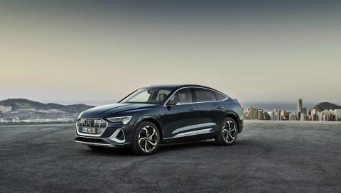 Audi präsentiert neues SUV-Coupé e-tron Sportback