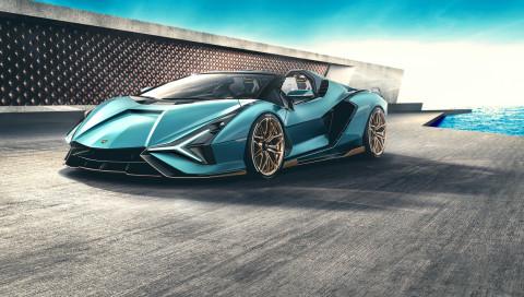 "Lamborghini Sián Roadster: Streng limitierter ""Blitz"" mit Hybrid-Technologie"