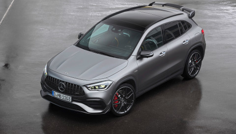 Mercedes-AMG stellt den stärksten Kompakt-SUV mit Vierzylinder-Turbomotor vor