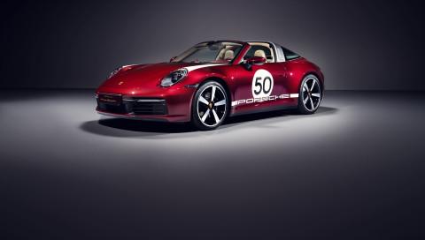 Limitierte Auflage: Der Porsche 911 Targa als Heritage Design Edition