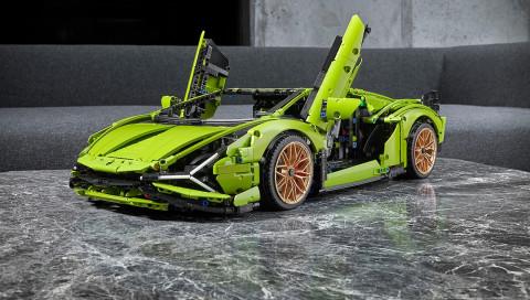 Lamborghini von Lego: So sieht der Supersportwagen im Miniaturformat aus