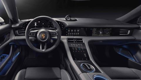 Porsche Taycan: Erste Bilder zeigen Innenraum des Elektroautos