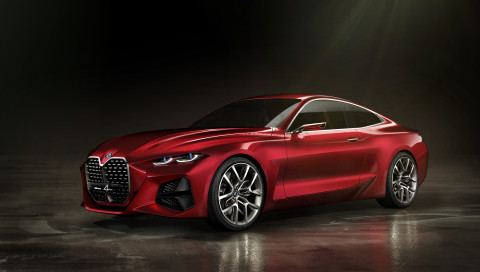 BMW Concept 4 Coupé: So soll der neue 4er aussehen