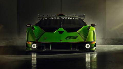 V12 mit 830 PS: So sieht der leistungsstärkste rennstreckentaugliche Lamborghini aus