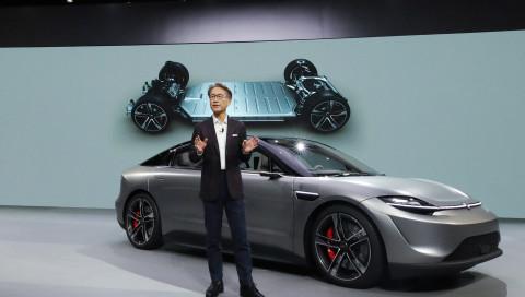 """Überraschung auf der CES: Sony zeigt mit dem """"Vision-S"""" ein eigenes Elektroauto"""