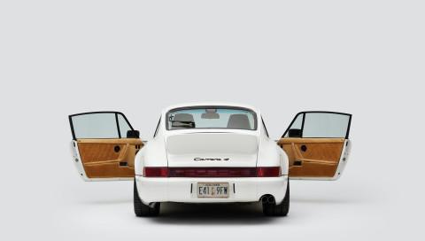 911 Carrera 4: Luxusrestauration durch neue Porsche-Kooperation