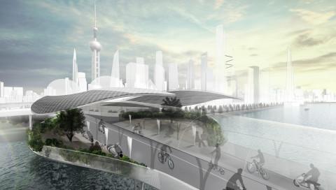 BMW stellt den Fahrradweg der Zukunft vor