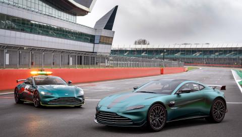 Aston Martin bringt das Formel 1 Safety Car auf öffentliche Straßen