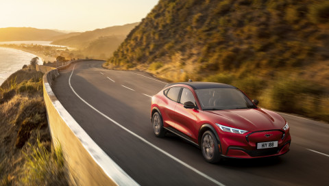 Ford Mustang Mach-E: Neuer Elektro-SUV von Ford