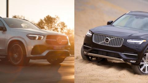 Zwei Luxus-SUVs im Vergleich: Mercedes-Benz GLE gegen Volvo XC90