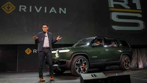 Das Elektroauto-Start-up Rivian hat sein SUV vorgestellt
