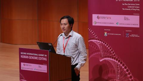 Der Forscher hinter den chinesischen Gen-Babys ist verschwunden