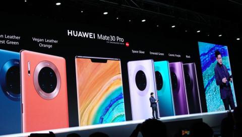 Mate-30-Serie: Huawei lässt bei neuen Smartphones die Muskeln spielen