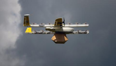 Die Google-Firma Wing testet 2019 kostenlose Drohnen-Lieferungen in Finnland