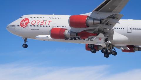 Virgin Orbit hat erstmals seine Rakete fliegen lassen