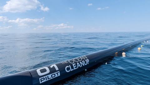 The Ocean Cleanup ist bereit, die Weltmeere zu säubern
