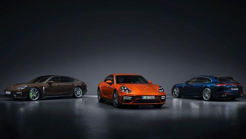 Neue Porsche-Sportlimousinen jetzt mit ordentlich mehr Power