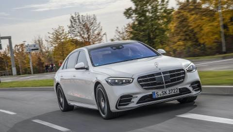 Mercedes-Benz S500: Unterwegs in der schwebenden Horizonterweiterung
