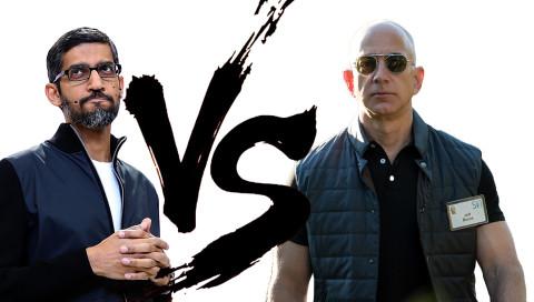 Amazon und Google zoffen sich wie zwei Fünfjährige