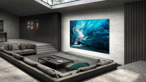 Samsung produziert Mega-Fernseher mit 110-Zoll-Bildschirmdiagonale bald in Serie