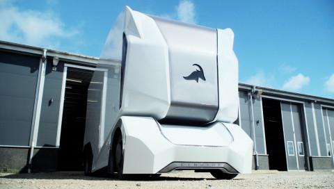 Dieser autonome Elektro-LKW fährt bald für die Deutsche Bahn und Lidl