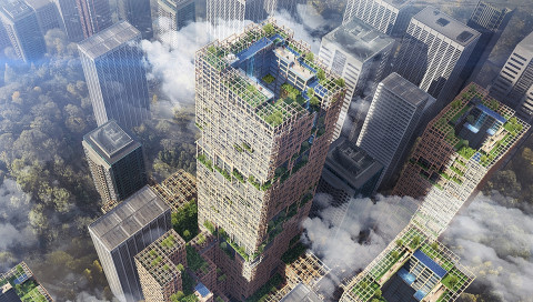 Tokio soll das höchste Holzhaus der Welt bekommen