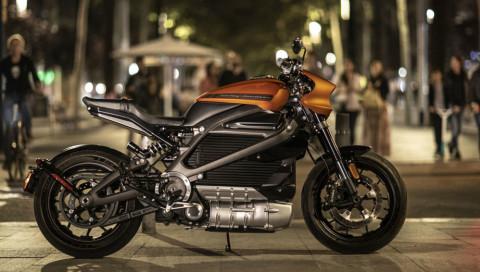 Harley Davidson - Bilder und Preise des ersten Elektro-Motorrads