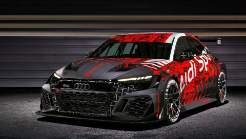 Audi RS 3 LMS (2021): Dieser Rennwagen gibt einen Ausblick auf das Serienmodell