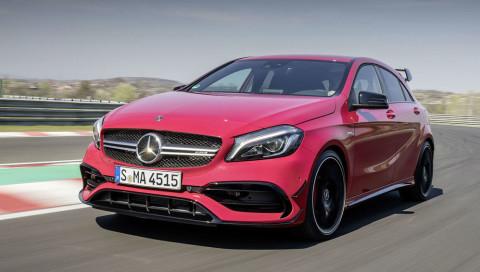 Über 400 PS und Drift-Mode: Erste Infos zum neuen Mercedes-AMG A45
