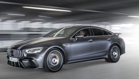 Heißer Start für den neuen Mercedes-AMG-Viertürer
