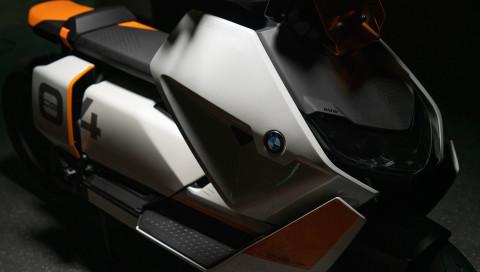 BMW Definition CE 04: Mit diesem Elektroroller sollen wir in Zukunft Städte erkunden